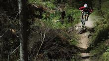 Lynden Sandy at the Sun Peaks Bike Park