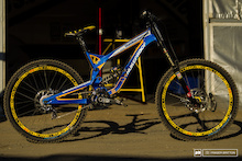 Sam Hill's Nukeproof Pulse - Hafjell World Cup