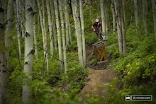 Eric Porter hits his Local Trails - Park City, Utah