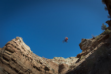 Brendan Fairclough and Nico Vink at Red Bull Rampage