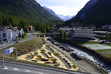 Velosolutions' Pumptrack in Pontresina, Switzerland