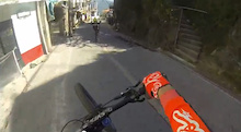 Helmet Cam: Brendan Fairclough and Mitch Ropelato at Taxco Urban Downhill