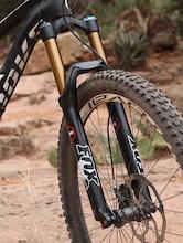 Riding FOX's Prototype RAD 34 Fork