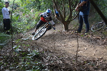 Downhill Rider Ding Ding from China.