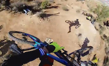 POV: Brendan Fairclough's Canyon Gap - Red Bull Rampage 2013