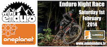 Enduro Night Race at Llandegla