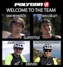 New riders in Enduro and Slopestyle for UR Team