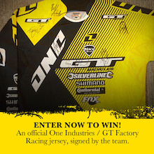 Giveaway: Signed Atherton Jersey!