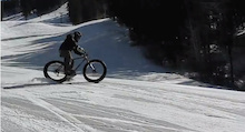 Video: Hitting Groomers on a Fat Bike