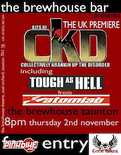 UK premiere's of Tough as Hell and CKD