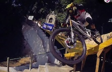Video: City Downhill Round 1 - Santos, Brazil