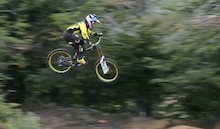 Video: Filip Polc DH Training in Chile