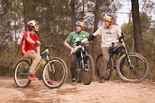 Canyon Factory Freeride Team Ready To Rock