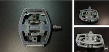 First Look: Prototype HT Components Clipless DH Pedal - Taipei Show 2014