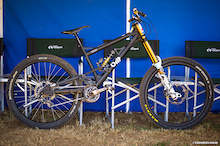 Brendan Moon's Bilt Eight DH Racer