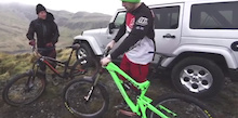 Video: Mountain Bikes And Jeeps