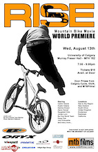Calgary Premiere of RISE - Wed. Aug 13th. at U of C
