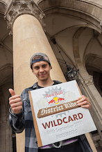 Szymon Godziek Secures Wildcard for Red Bull District Ride