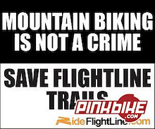 Another riding area in jeopardy-Help Save Flightline!