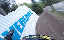 Helmet Cam: Danny Hart at Fort William