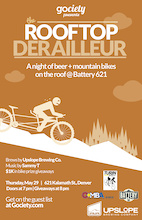 The Rooftop Derailleur!