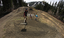 2014 Sun Peaks Bike Park Update #1: Tailgating the Snowline