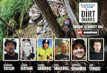 Crankworx Announces Rider Lineup for GoPro Dirt Diaries Video Contest
