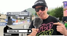 Video: Rob Warner's Post Qualifying Chit Chat - Fort William