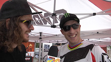 Video: Dirt TV Wyn Masters Pit Chats