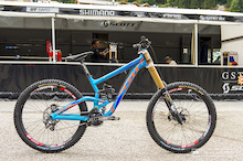 World Cup DH Bike Check: Brendan Fairclough's Scott Gambler