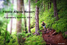 Fernie Alpine Resort: Pedal Stroke Stoke