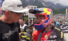 Video: Rob Warner Post Qualifying Chat At Leogang
