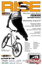 RISE Premiere - Vancouver BC - Aug 27th