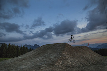 Video: Golden Hour On The New SuperMorzine Trail