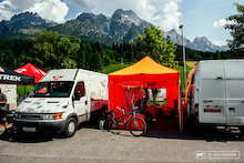 A Peek Into Privateer Life On the World Cup DH Circuit