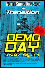 Transition Bikes Demo Day on Fromme this Sunday July 13