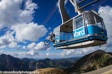 The Lifts Are Turning At Snowbird, Utah