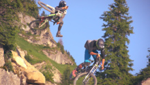 Behind the scene - Châtel Bike Festival