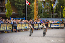 Fat Tire Crit Kicks Off Crankworx Whistler
