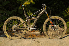 Riding Jared Graves' Prototype Yeti SB6c