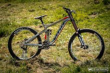 First Look: 2015 Vitus Dominer DH Bike