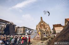 Szymon Godziek  Wins Red Bull District Ride Best Trick