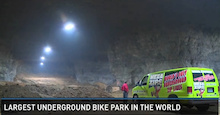 Largest Underground Bike Park in the World Coming