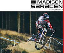 Madison Saracen 2014 - British Downhill Series: Bikepark Wales, Merthyr Tydfil
