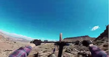 Video: Jeff Herbertson GoPro Finals Run - Red Bull Rampage 2014