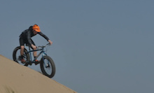 Video: Chris Akrigg On a Fat Bike?
