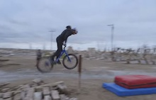 Video: Danny MacAskill and the Bump-Front Flip