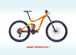NOW CLOSED - Donate to Win a Giant Reign 27.5