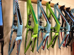 Before this we took a bunch of frames and made them into bikes. Pretty bikes