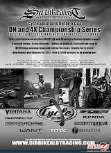 The Cycle Solutions Ontario Cup DH #1 is presented by Ventana and Foes bikes.